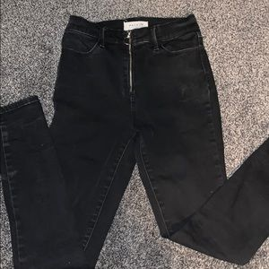 Pacsun black high rise jeggings
